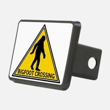 Bigfoot Crossing Sign Hitch Cover
