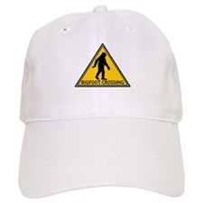 Bigfoot Crossing Sign Baseball Cap