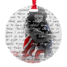 Army Wife Poem Ornament
