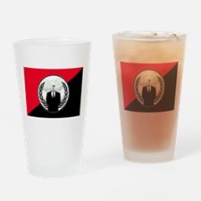 We Are the Legion! Drinking Glass