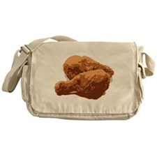 Fried Chicken Love Messenger Bag