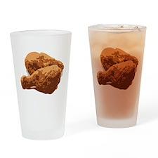 Fried Chicken Love Drinking Glass