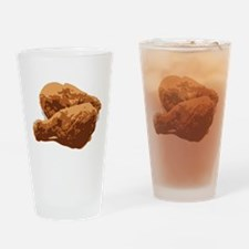 Fried Chicken Love Drinking Glass