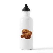 Fried Chicken Love Sports Water Bottle