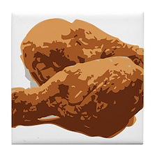 Fried Chicken Love Tile Coaster