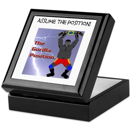 """The Gorilla Position - """"The Gorilla Is Coming...""""."""