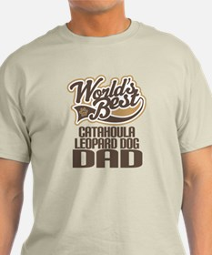 Catahoula Leopard Dog Dad T-Shirt