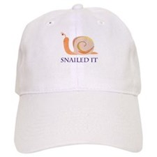 Snailed It Baseball Cap
