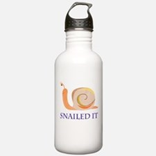 Snailed It Water Bottle