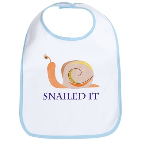 Snailed It Bib