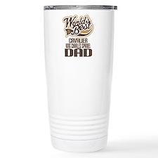 Cavalier King Charles Spaniel Dad Travel Mug