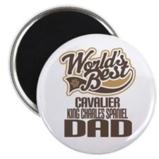 Cavalier King Charles Spaniel Dad Magnet