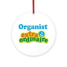 Organist Extraordinaire Ornament (Round)