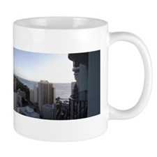 Diamond Head Panama - Oahu, Hawaii Mug