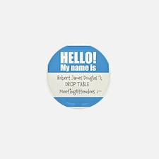 Personalizable SQLi Name Tag Mini Button