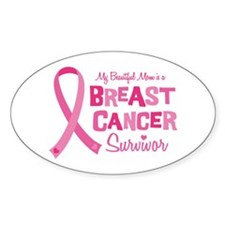 Breast Cancer Mom Decal