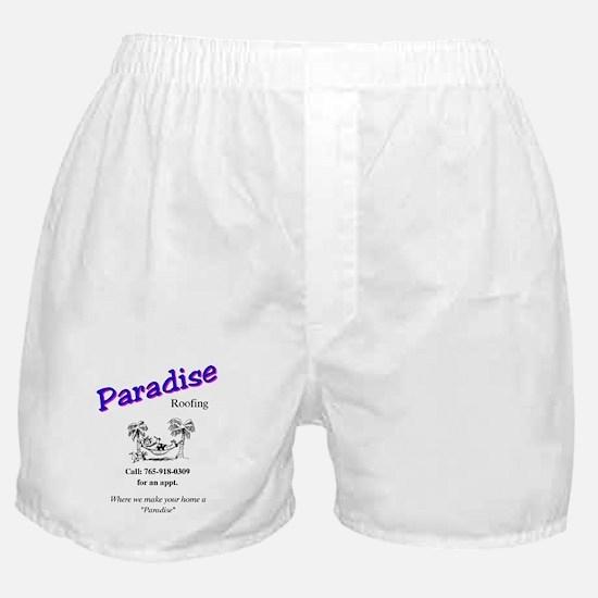paradise roofing Boxer Shorts