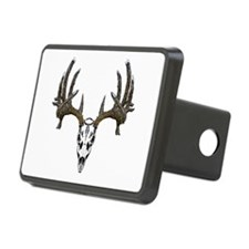 Whitetail deer skull Hitch Cover