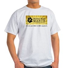 T-Shirt - Million Mutt March Logo