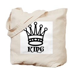 King Symbol Tote Bag