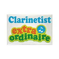 Clarinet Extraordinaire Rectangle Magnet