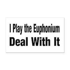 euphonium7.png Rectangle Car Magnet