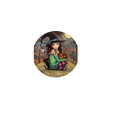 Halloween Hill Mini Button (10 pack)