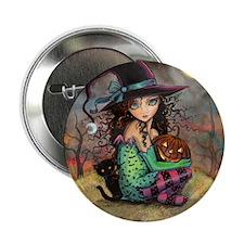 """Halloween Hill 2.25"""" Button"""