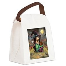 Halloween Hill Canvas Lunch Bag