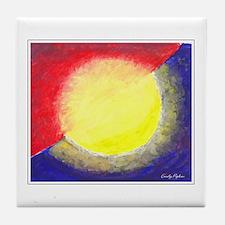 'Eclipse' Tile Coaster