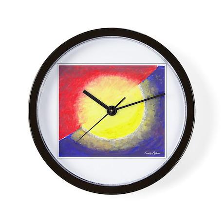 'Eclipse' Wall Clock