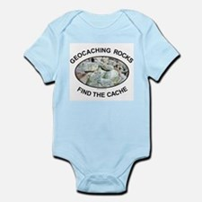 Geocaching Rocks Infant Creeper