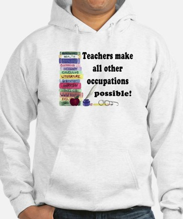 """Teacher Occupations"" Jumper Hoody"