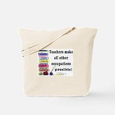 """Teacher Occupations"" Tote Bag"
