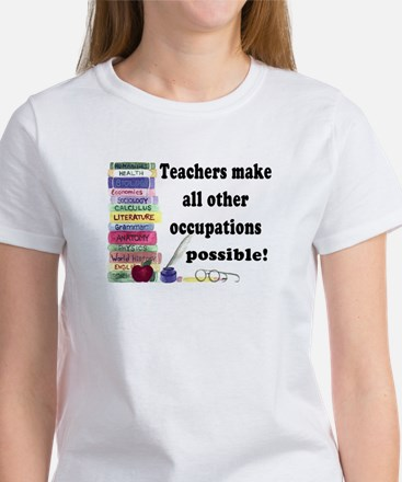 """Teacher Occupations"" Women's T-Shirt"