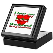I Love My Italian Boyfriend Keepsake Box