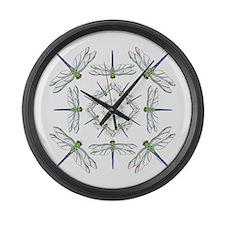 Circle the Dragons Large Wall Clock