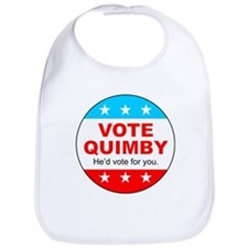 Vote Quimby Bib