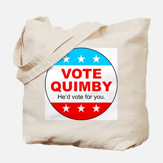 Vote Quimby Tote Bag