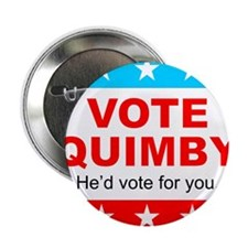 "Vote Quimby 2.25"" Button"
