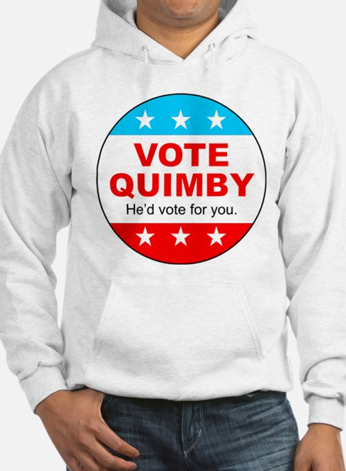 Vote Quimby Hoodie