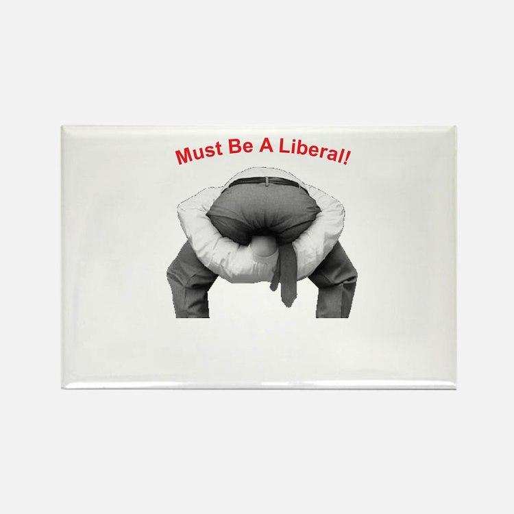 Head Up Ass Rectangle Magnet (100 pack)