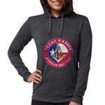 Texas Masons. A Band of Brothe Womens Hooded Shirt