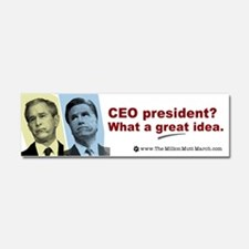 Car Magnet 10 x 3- Mitt Like Bush- CEO