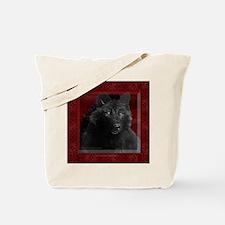 Black Wolf Halloween Bag