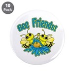 """Bee Friends 3.5"""" Button (10 pack)"""