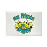 Bee Friends Rectangle Magnet (10 pack)