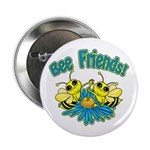 """Bee Friends 2.25"""" Button (10 pack)"""