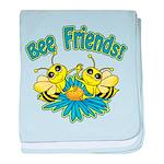 Bee Friends baby blanket