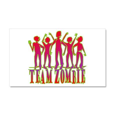Team Zombie Car Magnet 20 x 12